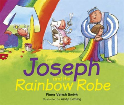 Picture of Joseph and the rainbow robe