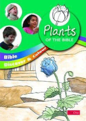 Picture of Bible discover and colour: Plants