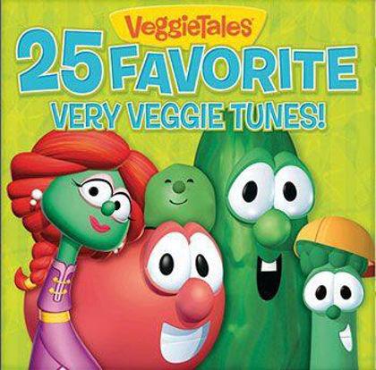 Picture of 25 favourite very veggie tunes