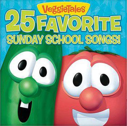 Picture of 25 favourite Sunday school songs
