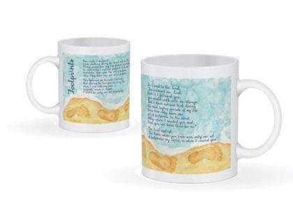 Picture of Footprints mug