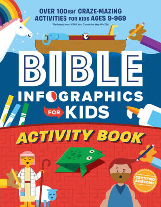 Picture of Bible infographics for kids activity boo
