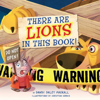 Picture of There are lions in this book!