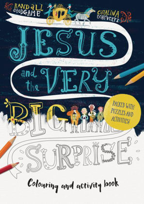 Picture of Jesus and the very big surprise colouring book