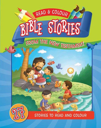Picture of Read & Colour: Bible stories from the New Testament