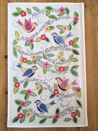 Picture of God of hope Tea towel