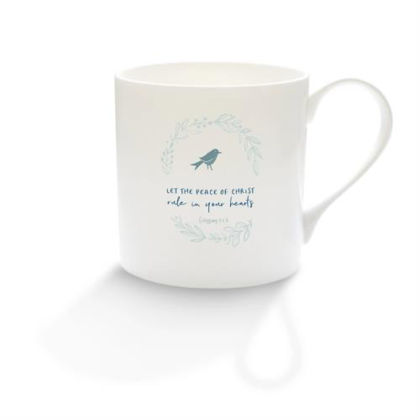 Picture of Let the peace of Christ mug (Calm range)