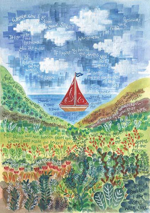 Picture of Psalm 139 (Sailboat)