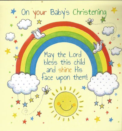 Picture of Rainbow - Baby's Christening