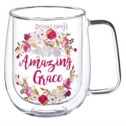 Picture of Glass Mug: Amazing Grace