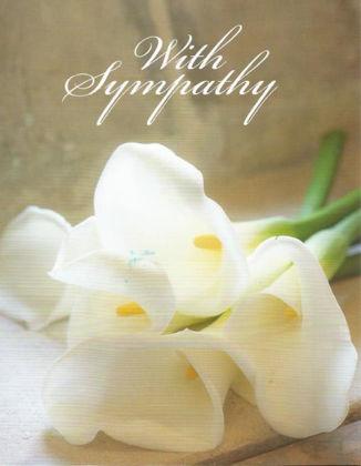 Picture of White calla lillies