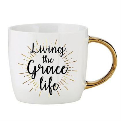 Picture of Gilded Mug Living Grace Life