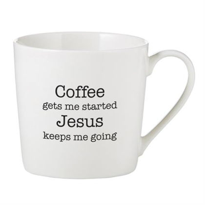Picture of Cafe Mugs - Coffee Gets Me Started