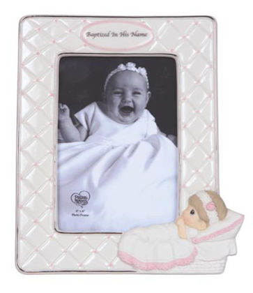 Picture of Precious Moments - Girl Baptism Frame