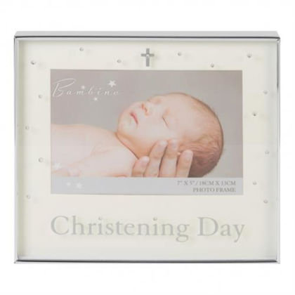 """Picture of Bambino Photo Frame - Christening 7 X 5"""""""