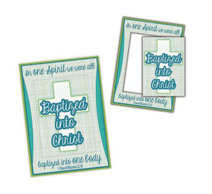 Picture of 2 Piece Baptism Magnet Photo Frame