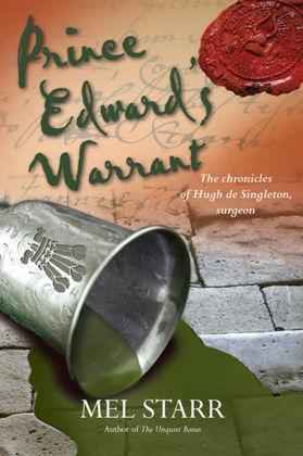 Picture of Prince Edward's warrant ((The Chronicles of Hugh de Singleton, Surgeon #11)