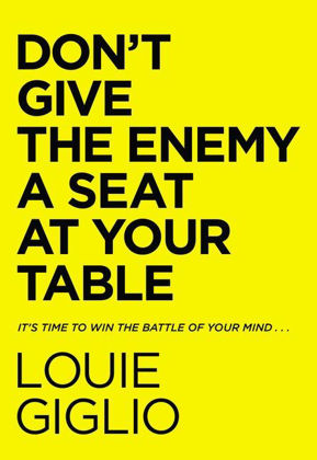 Picture of Don't give the enemy a seat at your table