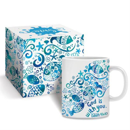 Picture of God with you mug and gift box