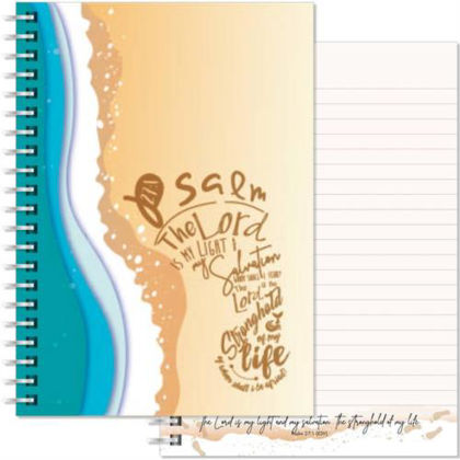 Picture of Beach A5 notebook