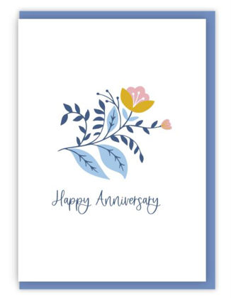 Picture of Happy anniversary (Blooms)