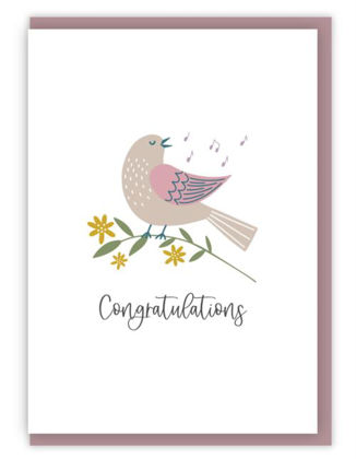 Picture of Congratulations (Birds of joy)