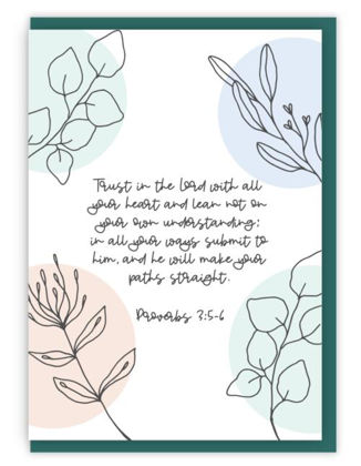 Picture of Trust in the Lord (Flora)