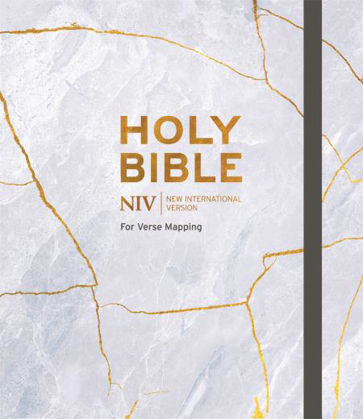 Picture of NIV Bible for journalling and verse-mapping (Kintsugi)