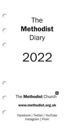 Picture of Methodist diary 2022 Organiser