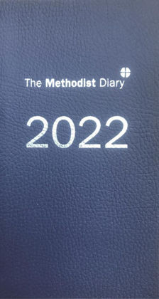 Picture of Methodist diary 2022 Midnight blue