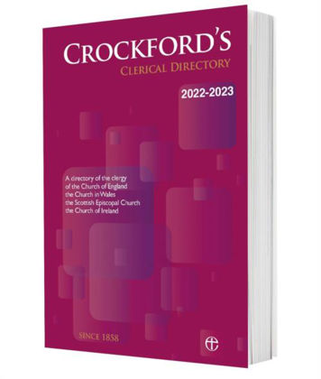 Picture of Crockford's clerical directory 2022-23