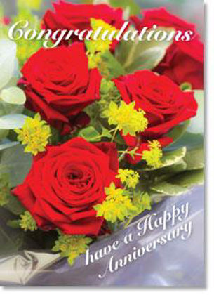 Picture of Red roses bouquet