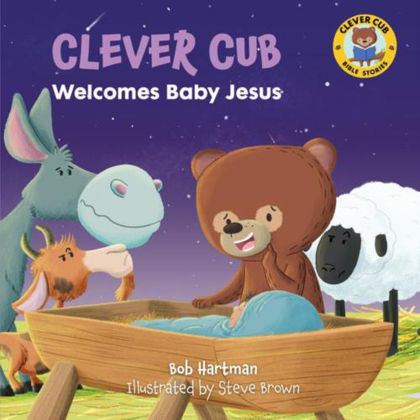 Picture of Clever Cub welcomes baby Jesus
