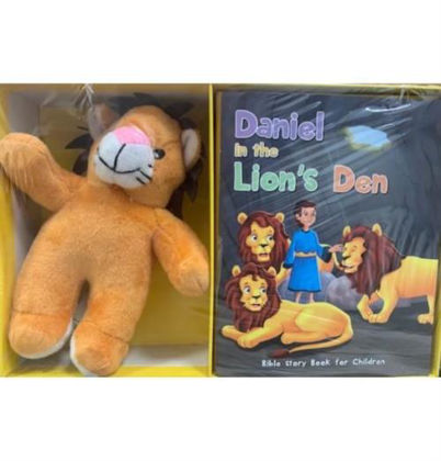Picture of Daniel in the lion's den