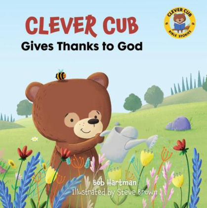 Picture of Clever Cub gives thanks to God
